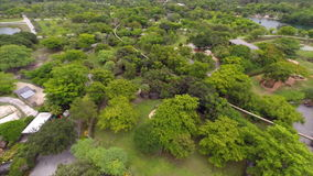 Zoo Miami aerial video Stock Image