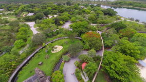 Zoo Miami aerial video Royalty Free Stock Photo