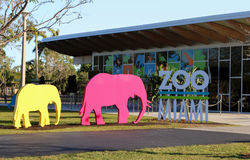 Zoo Miami Sign Royalty Free Stock Images