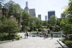 Zoo New York U.S.A. del parco dei centri Immagini Stock