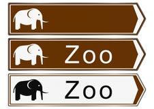 Zoo sign Royalty Free Stock Photos