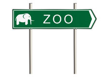 Zoo sign Stock Photos