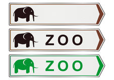 Zoo sign Royalty Free Stock Image