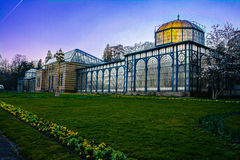 Zoo storico Germania di Wilhelma di architettura della costruzione della Camera di Maurisches Landhaus Fotografie Stock Libere da Diritti
