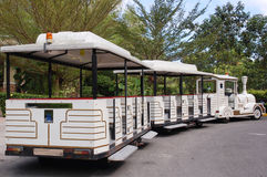 Zoo train stock photography