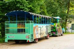 Zoo transportu fura Fotografia Stock