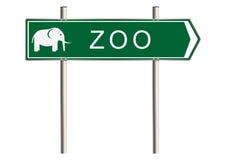 Zoo znak Zdjęcia Stock