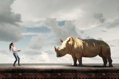 Zoo zwierzę Fotografia Royalty Free