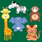 Zoodjur Arkivbilder