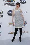 Zooey Deschanel at the 2012 Billboard Music Awards Arrivals, MGM Grand, Las Vegas, NV 05-20-12 Stock Photography