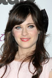 Zooey Deschanel stockbild