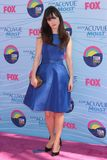 Zooey Deschanel royaltyfria foton