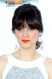 Zooey Deschanel arrives at the 2012 Billboard Awards Stock Photography