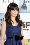 Zooey Deschanel immagine stock