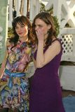 Zooey Deschanel,Emily Deschanel Stock Photo