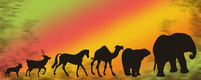 Zoogdieren stock illustratie