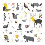 Zoogdieren vectorinzameling stock illustratie