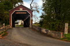 Zook's Mill Covered Bridge Royalty Free Stock Images