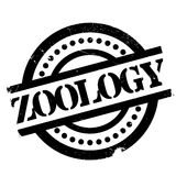Zoology rubber stamp Royalty Free Stock Photography
