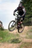 Zoom 25 della bici di montagna Fotografia Stock Libera da Diritti