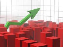 Zoom all'equilibrio di successo Fotografie Stock Libere da Diritti