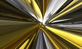 Zoom amarelo ilustração royalty free