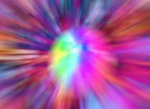Zoom astratto Immagini Stock