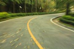 Zoom auf der Straße. Stockfoto