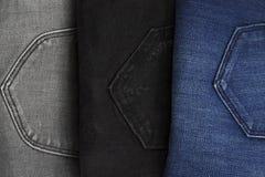 Zoom auf Jeans Lizenzfreies Stockfoto
