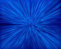 Zoom azul ilustração royalty free