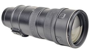 Zoom Camera Lens Stock Photo