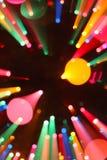 Zoom coloré Images stock