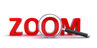 Zoom concept Stock Photography