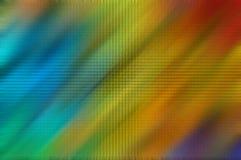 Zoom d'arc-en-ciel Photographie stock libre de droits