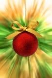 Zoom de babiole de Noël Image stock