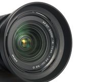 Zoom de DSLR Photo stock