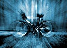 Zoom de la bici Fotografía de archivo libre de regalías