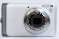 Zoom della macchina fotografica compatta Fotografie Stock Libere da Diritti