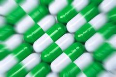 Zoom della pillola Fotografia Stock