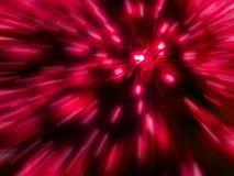 Zoom des roten Lichtes Lizenzfreies Stockbild