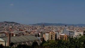 Zoom di familia di Sagrada fuori, Barcellona, Spagna stock footage