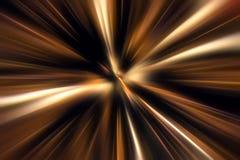 Zoom di movimento di colore Fotografie Stock