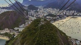 Zoom di Rio Cityscape Time Lapse Dusk archivi video