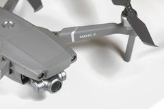 Zoom DJI Mavic 2 stockbild