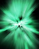 Zoom effect. A zoom effect showing motion vector illustration