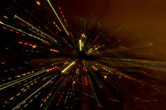 Free Zoom Effect, Fires Of A Night City Stock Image - 28929641
