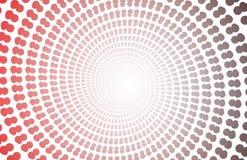 zoom för bakgrundcopyspacespiral stock illustrationer