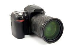 zoom för foto för kameralins Arkivbild