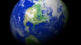 """zoom för jord 4K: New York †""""USA arkivfilmer"""