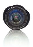 zoom för kameralins Arkivfoto